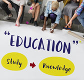 Education Knowledge Studying Learning Intelligence Concept Stock Photography