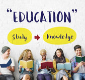 Education Knowledge Studying Learning Intelligence Concept stock images