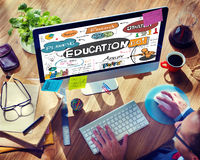 Education Knowledge Studying Learning University Concept.  royalty free stock photo