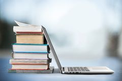 Education Laptop Royalty Free Stock Images