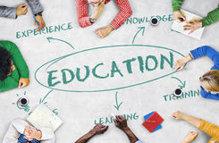 Education Learning Academics Concept. Education Learning Academics Knowledge Concept Royalty Free Stock Photos