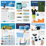 Education And Learning Chart Diagram Infographic Royalty Free Stock Photo