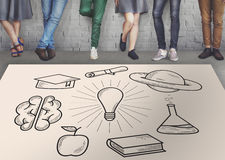 Education Learning Ideas Study Knowledge Concept Stock Image