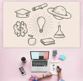 Education Learning Ideas Study Knowledge Concept Royalty Free Stock Image