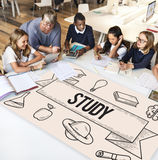 Education Learning Ideas Study Knowledge Concept Royalty Free Stock Photos
