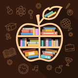 Education, learning and knowledge concept Stock Photos