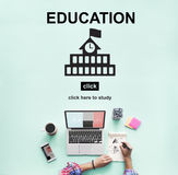 Education Learning School Knowledge Elementary Highschool Concep Royalty Free Stock Photos