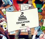 Education Learning School Knowledge Elementary Highschool Concep Stock Photography
