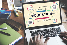 Education Learning Students Development People Graphic Concept Stock Image