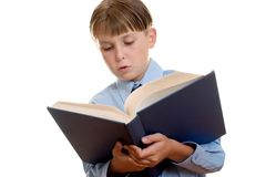 Education - literacy and reading Royalty Free Stock Photography