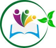 Education logo. A vector drawing represents education logo design Stock Photo
