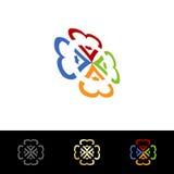 Education Logo Design Royalty Free Stock Photos