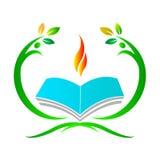 Education logo Royalty Free Stock Photo