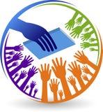 Education logo. Illustration art of a education logo with  background Stock Photo