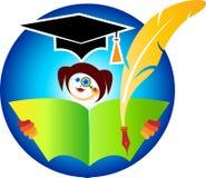 Education logo Royalty Free Stock Image
