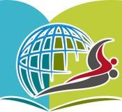 Education logo vector illustration