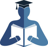 Education logo Stock Photo
