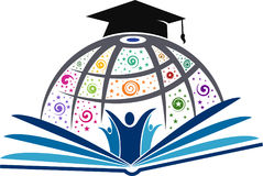 Education logo Royalty Free Stock Images