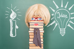 Education. Merry education idea about history of development of civilization and science Stock Photography