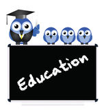 Education message Stock Photography