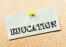 Education Message Royalty Free Stock Photos