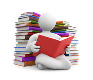 Education metaphor. Image contain the clipping path Royalty Free Stock Photo