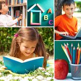 Education moments Royalty Free Stock Image