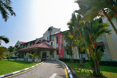 The Education National Museum. The initial efforts to establish Museum Pendidikan Sultan Idris has inspired since the 1950s again.  At that time, the museum held Royalty Free Stock Photo