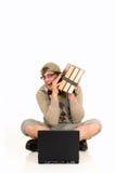 Education, nerd, geek Royalty Free Stock Photography