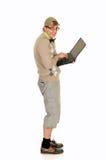 Education, nerd, geek Stock Images