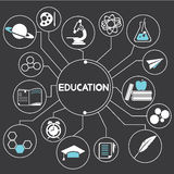Education. Network, mind mapping, info graphic Stock Photo