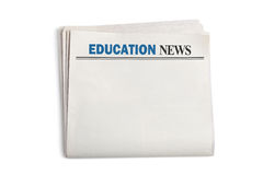 Education News Royalty Free Stock Image