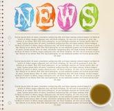 Education News Royalty Free Stock Image
