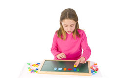 Education with numbers Royalty Free Stock Photo