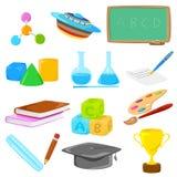 Education Object Royalty Free Stock Photos