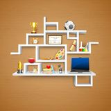 Education object on Display Royalty Free Stock Images