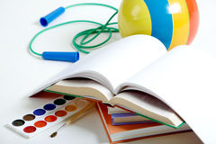 Education objects Royalty Free Stock Photo