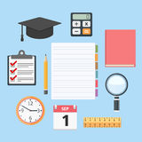 Education Objects Royalty Free Stock Photos
