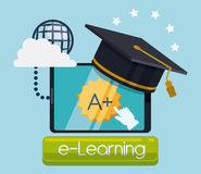 Education online. Stock Image