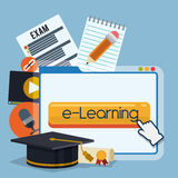 Education online. Royalty Free Stock Photography
