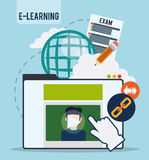 Education online. Royalty Free Stock Images