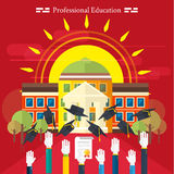 Education, online education, professional Royalty Free Stock Image