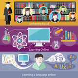 Education, online education, professional Royalty Free Stock Photo