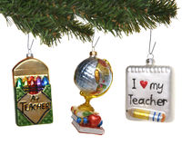 Education Ornaments Stock Image