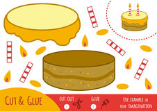 Education paper game for children, Cake Stock Images
