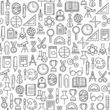 Education pattern Stock Images