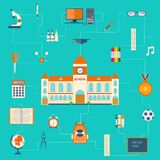 Education Pictogram Royalty Free Stock Image