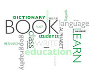 Education poster Royalty Free Stock Photography