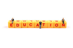 Education priority Royalty Free Stock Image