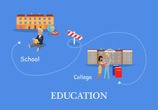 Education Process Concept Stock Images